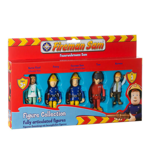 Fireman Sam 5 Figure Collection FS022