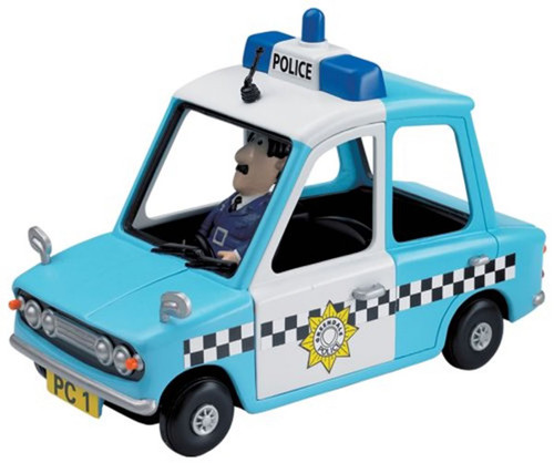 Postman Pat Friction Police Car PC Selby Figure PP038