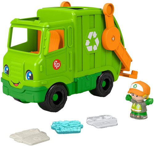Fisher Price Little People Recycling Truck GWD29