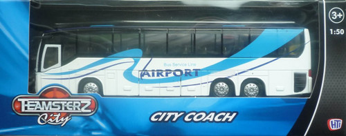 Teamsterz White & Blue City Coach 1370246