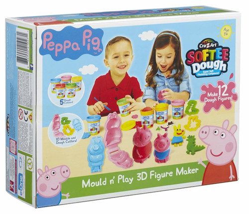 Peppa Pig Dough 3D Figure Maker  21027