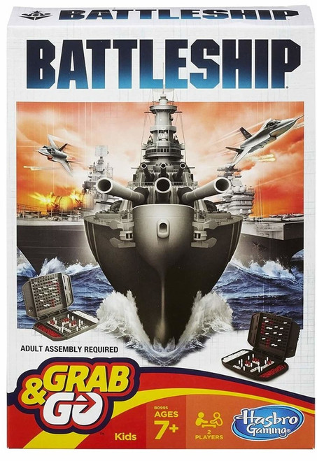 Grab & Go Travel Battleship B0995