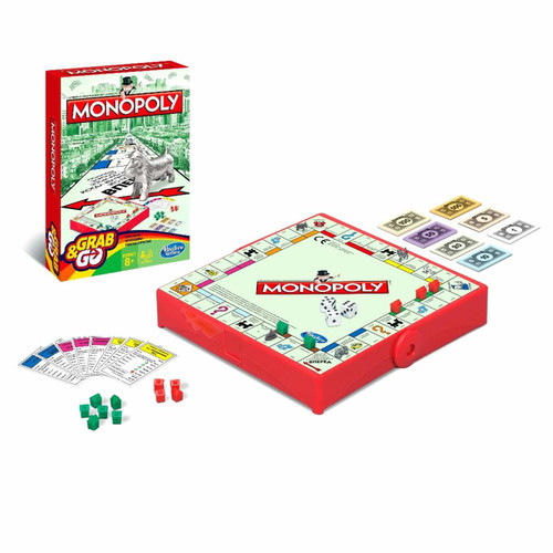 Grab & Go Travel Monopoly B1002