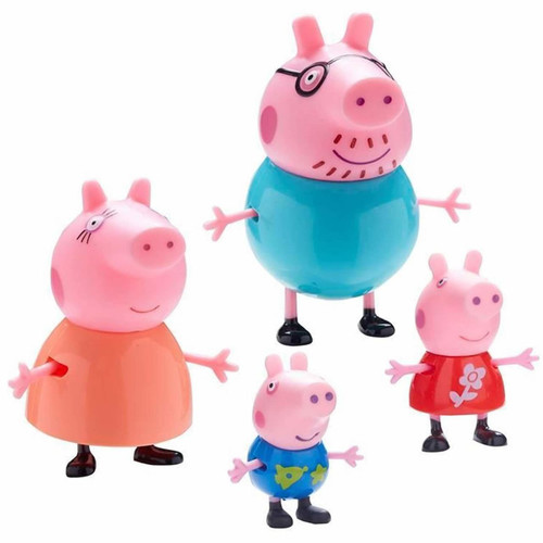 Teletubbies 4 Chunky Figures Family Pack