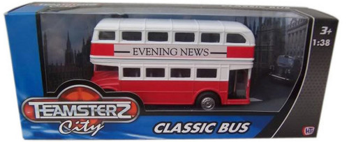 Teamsterz Classic Bus Red & White 1370180