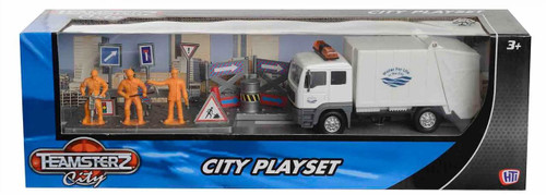 Teamsterz Rubbish Truck City Playset 1372500