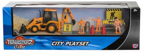Teamsterz City Back Hoe Digger Playset 1372500