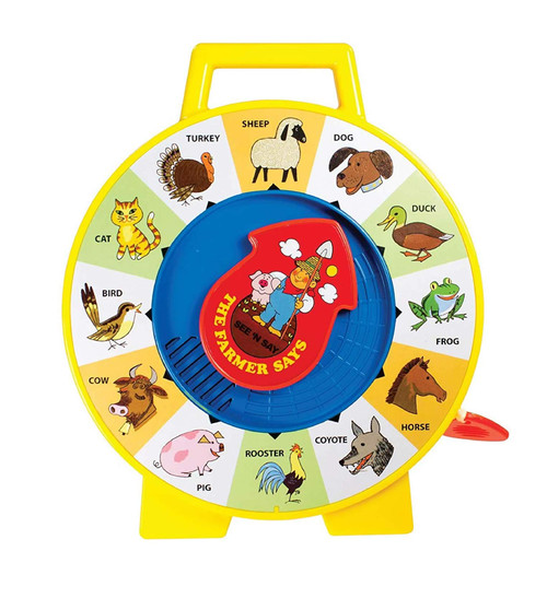 Fisher Price Classic See 'n Say Farmer Says 02070