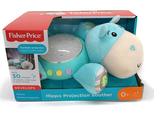 Fisher Price Blue Hippo Projection Soother CGN86
