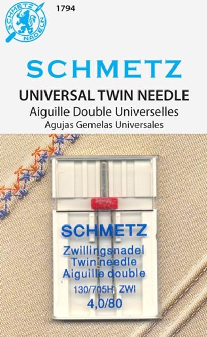 Schmetz Double Needle - 4.0 Width
