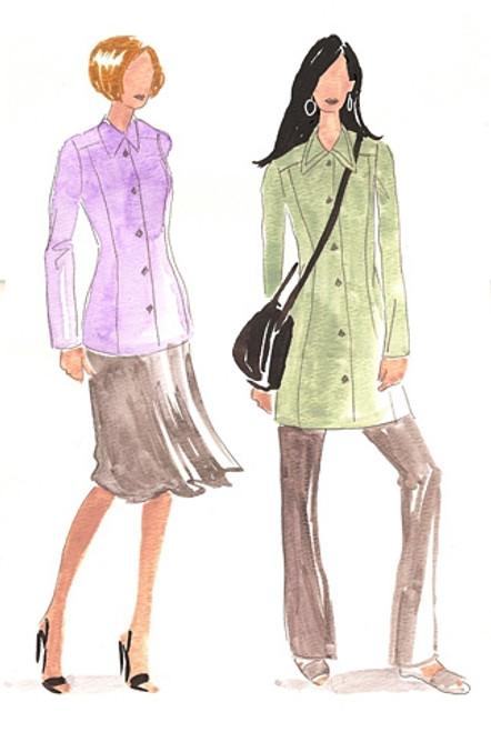 Double Collar Princess Jacket - Christine Jonson