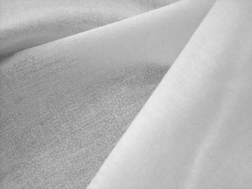 100% Cotton White Woven Fusible Interfacing
