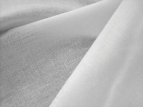 100% Cotton White Woven Fusible Interfacing