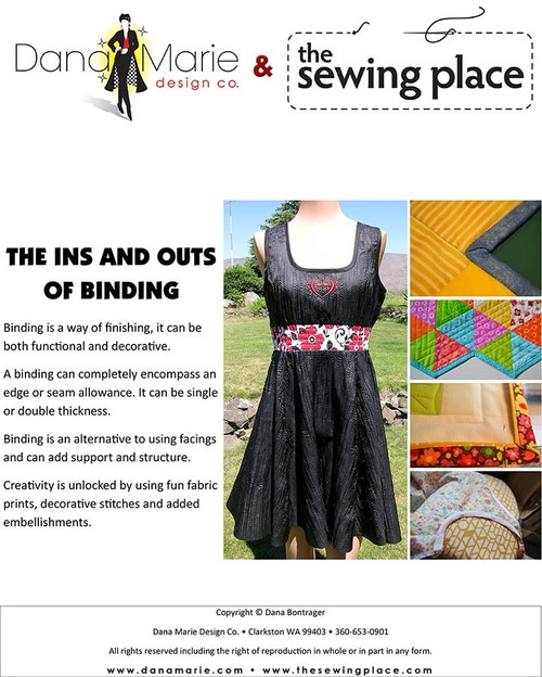 Ins and Outs of Binding - Dana Marie Design Co.