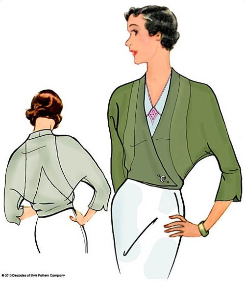 1931 Lily Jacket - Decades of Style