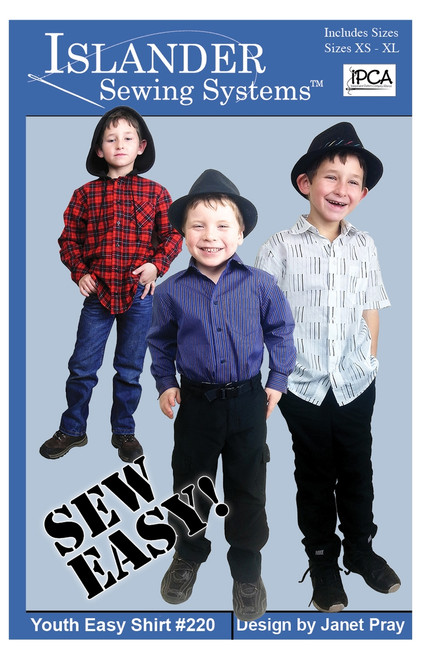 Youth Easy Shirt  - Islander Sewing Systems