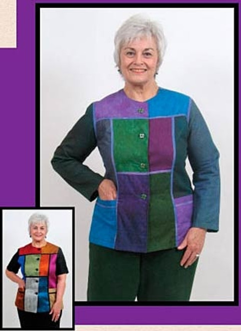 Breezy Block Jacket - Lorraine Torrence