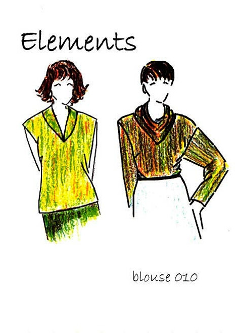 Blouse 010 Pattern - Elements