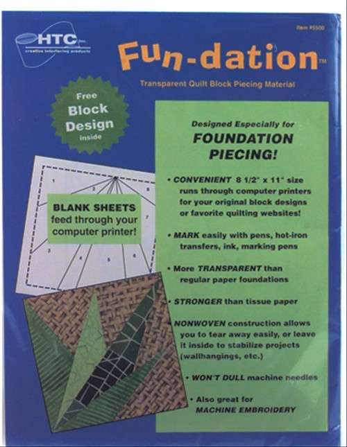 Fun-dation - Transparent Piecing Material