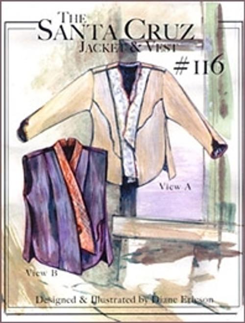 Santa Cruz Jacket & Vest - Diane Ericson - ReVisions