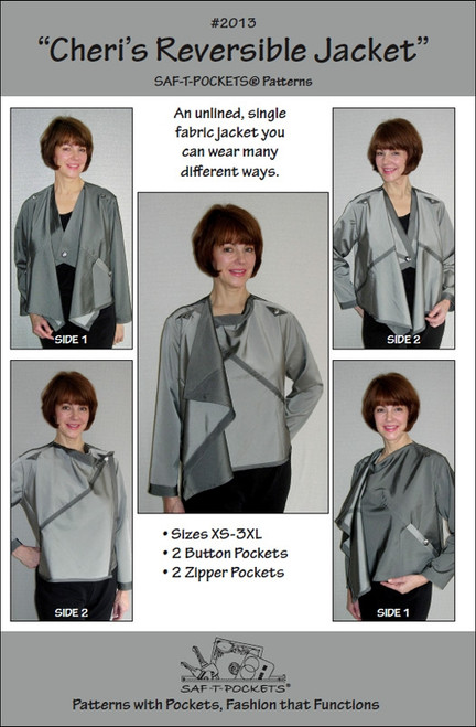 Cheri's Reversible Jacket - Saf T Pockets