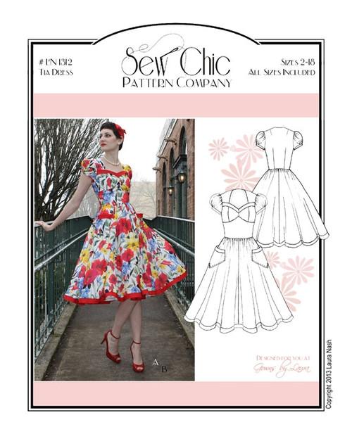 Tia Dress - Sew Chic Pattern Company