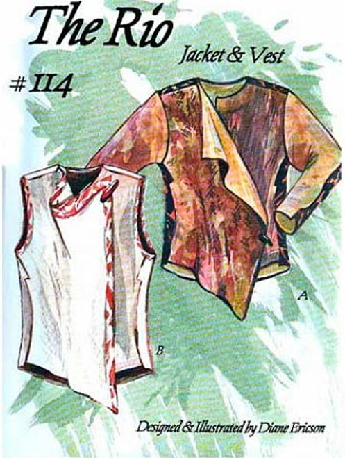 Rio Jacket & Vest - Diane Ericson - ReVisions
