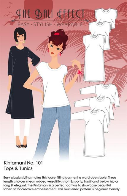 Redesigned! Kintamani Top and Tunic Pattern - Bali Effect
