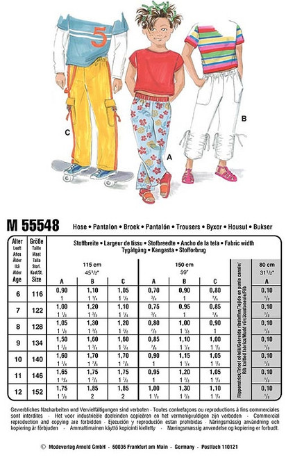 55548 - Neue Mode