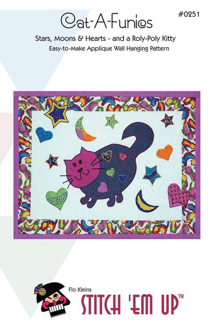 Cat-A-Funics Wall Quilt  Pattern