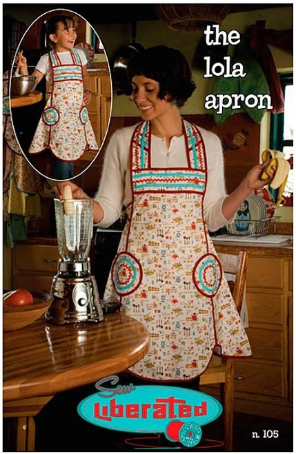 Lola Apron - Sew Liberated