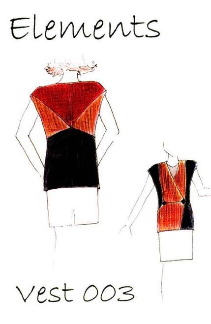 Vest 003 Pattern - Elements