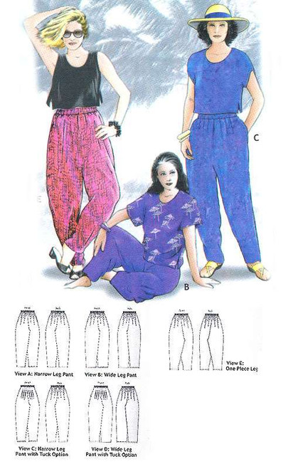 Surabaya Pants Pattern - Bali Collection