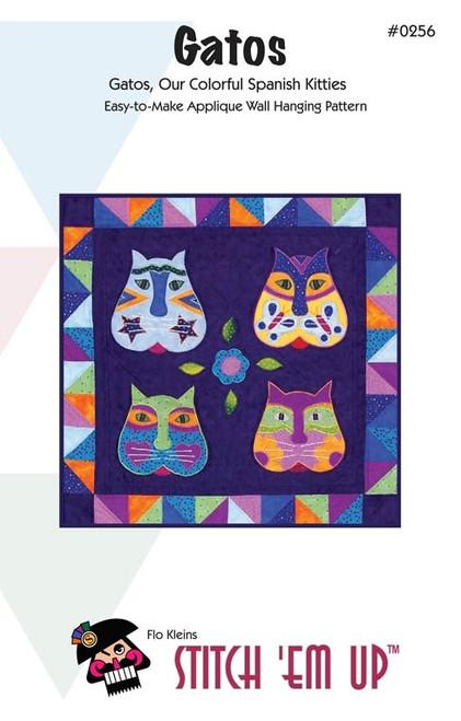Gatos Wall Quilt  Pattern