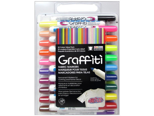 Uchida Fabric Marker 30 pc Set