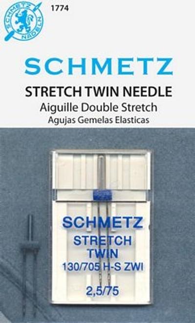 Schmetz STRETCH Double Needle - 2.5 Width