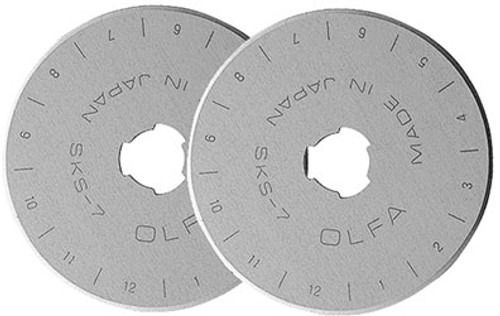 Rotary Blades - Straight - 2 pack