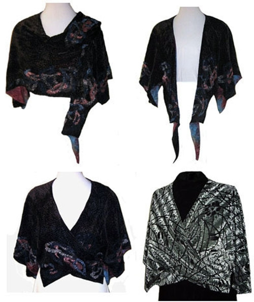 Sensational Shawl - LJ Designs