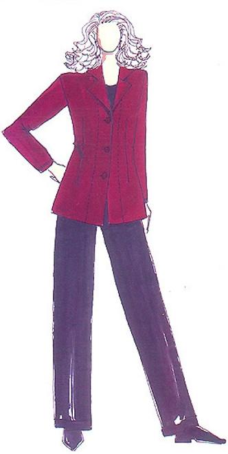 Fitted Jacket - Christine Jonson