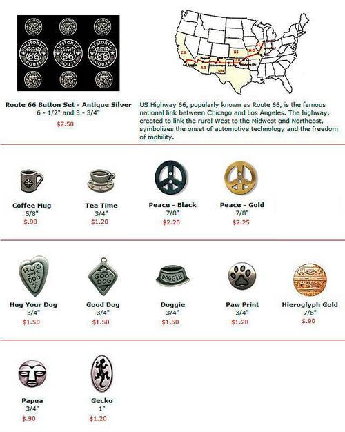 Buttons - Metal
