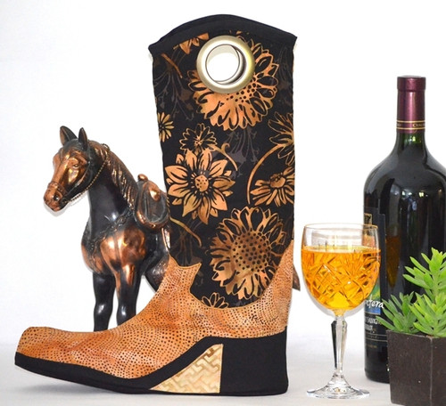 Boot Y Wine Tote - Sweet Tea Girls
