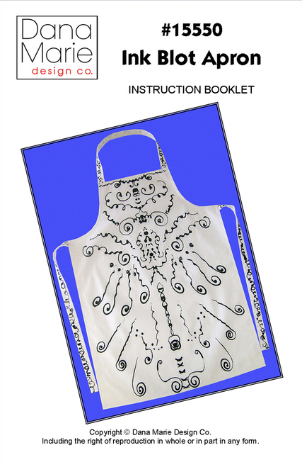 Ink Blot Apron Pattern
