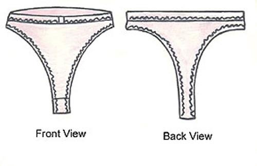 Thong Pantie - Lingerie Secrets