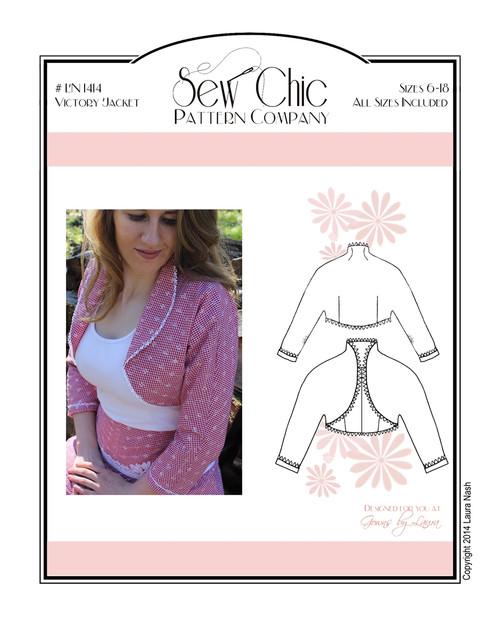 Victory Jacket - Sew Chic Pattern Company
