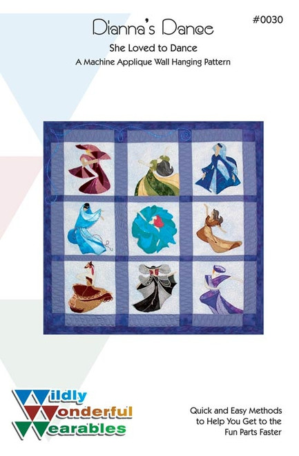 Diana's Dance Wall Quilt  Pattern
