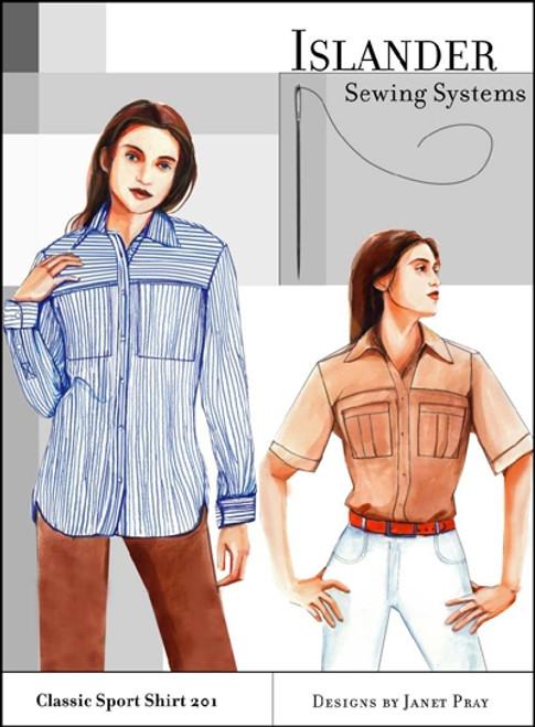 Women's Classic Sport Shirt - Islander Sewing Systems