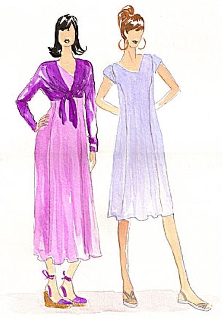 Princess Dress & One Seam Wrap - Christine Jonson