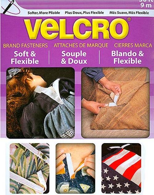 Velcro Soft & Flexible Sew On Tape