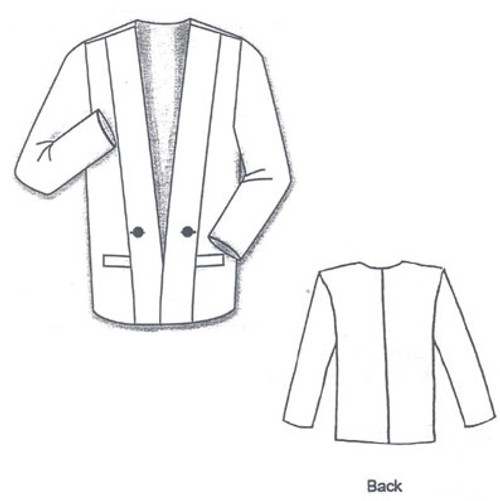 Casual Tux Jacket - Islander Sewing Systems