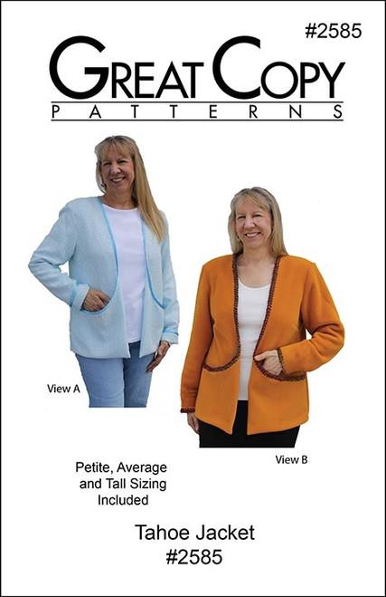 Tahoe Jacket - Great Copy Patterns